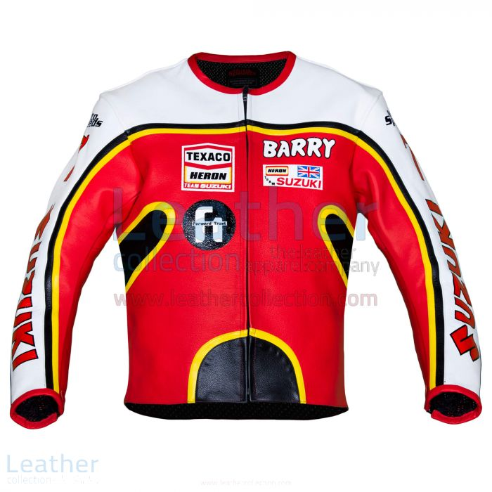 Kauf Barry Sheene Suzuki GP 1976 Lederjacke €387.00