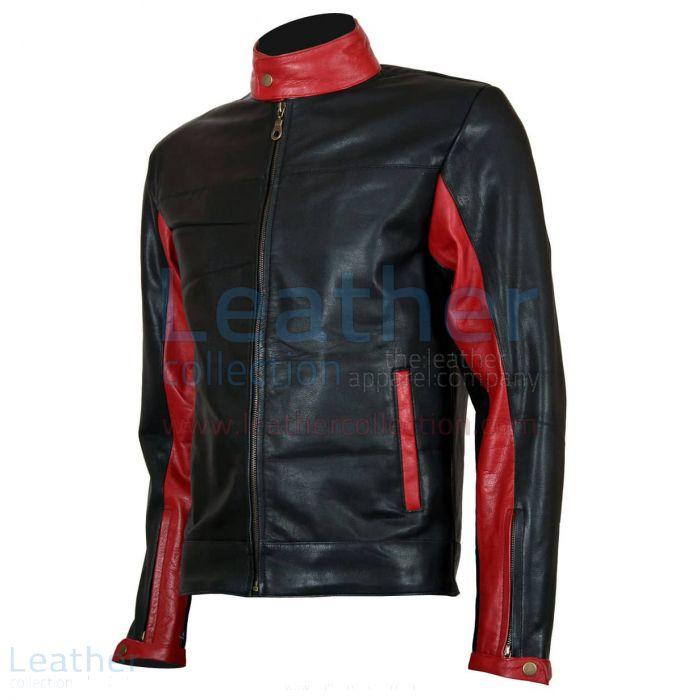 Claim Online Batman Biker Black Leather Jacket for CA$471.60 in Canada