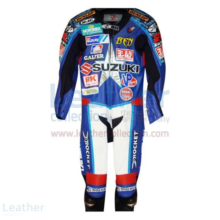 Pick up Ben Spies American Suzuki Leathers 2005 AMA for $899.00