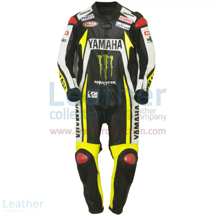 Comprare online Ben Spies Monster Yamaha 2010 Tuta in Pelle Moto €77