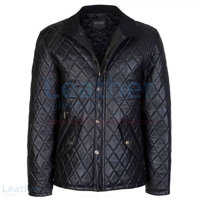 Get Now Black Diamond Leather Jacket for SEK4,840.00 in Sweden