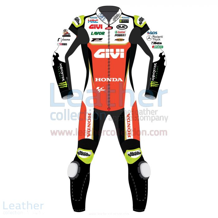 Cal Crutchlow LCR Honda 2019 MotoGP Leather Suit | Motorcycle Clothing