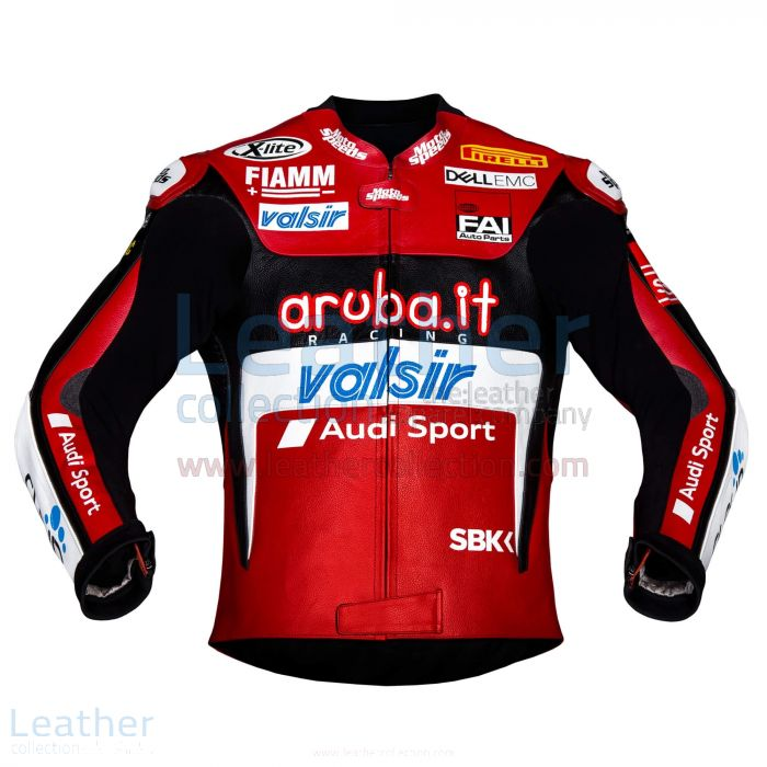 Shop Now Chaz Davies Ducati Leather Jacket 2018 WSBK