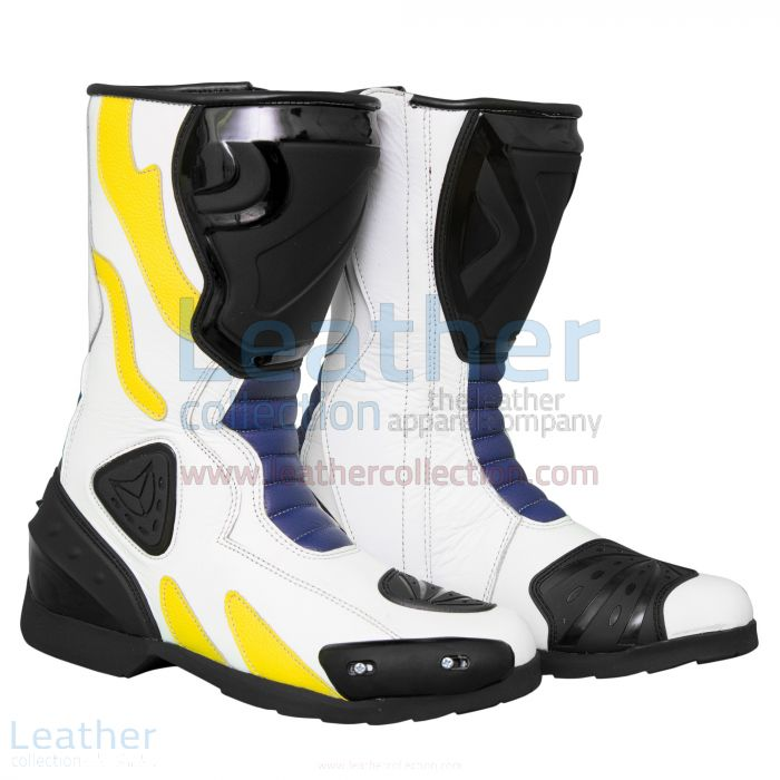 Buy Alex Rins MotoGP 2017 Leather Racing Boots for CA$327.50 in Canada
