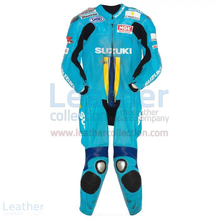 Kaufe jetzt Chris Vermeulen Suzuki MotoGP 2007 Lederanzug €773.14