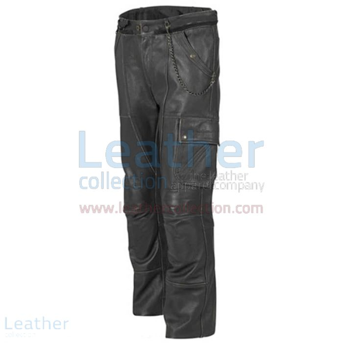 Pick up Classic Leather Motorcycle Trousers for $145.00