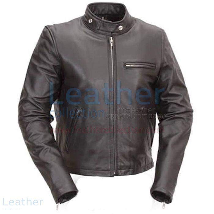 Kaufen Jetzt Klassische Leder Roller Jacke | Motorradjacke Leder