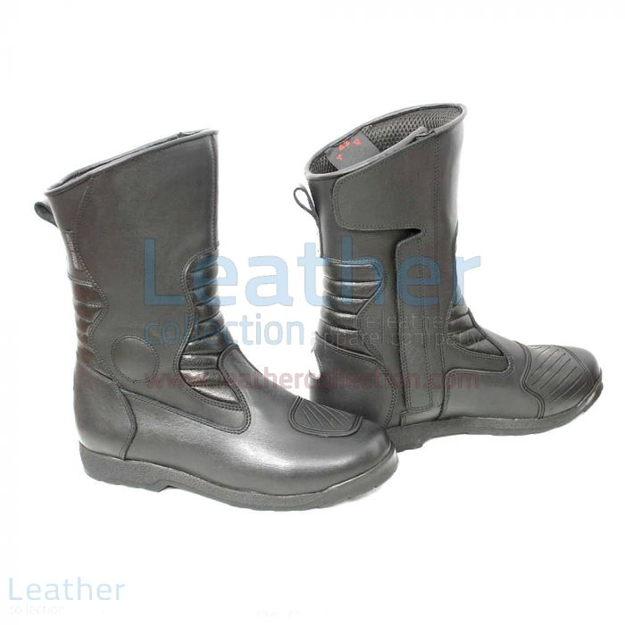 Black Biker Boots | Buy Now | Leather Collection