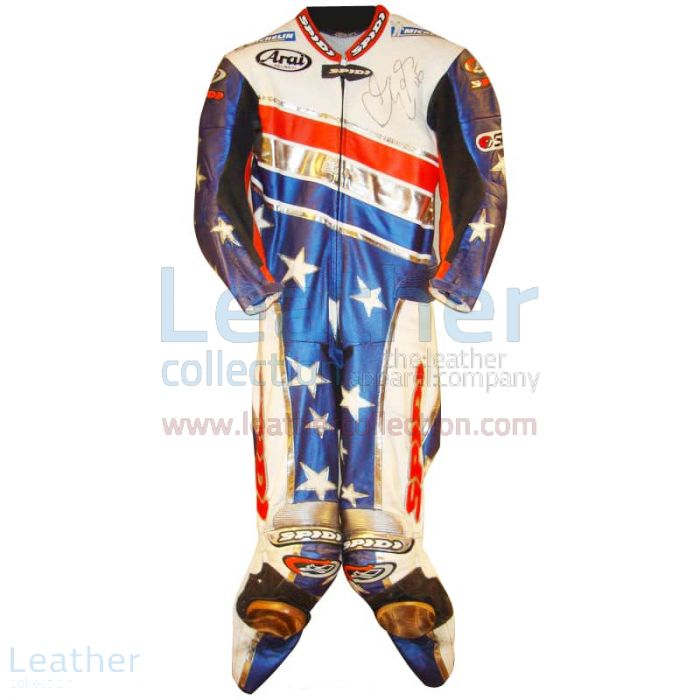 Claim Now Colin Edwards Aprilia Leathers 2003 MotoGP Pre-season for ¥