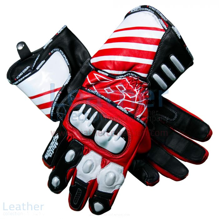 Pick up Now Dani Pedrosa 26 MotoGP 2017 – 2018 Race Gloves for SEK2,20