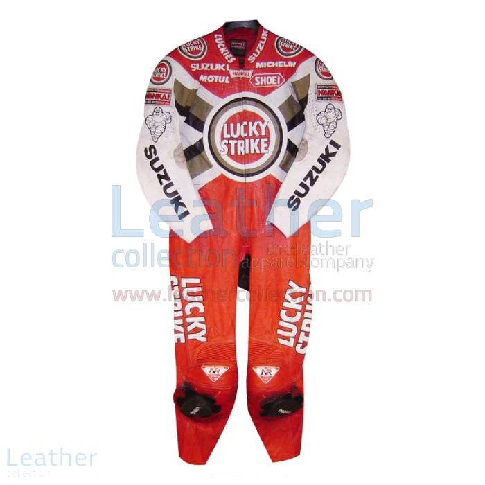 Order Daryl Beattie Suzuki Lucky Strike Leathers 1995 MotoGP for ¥100