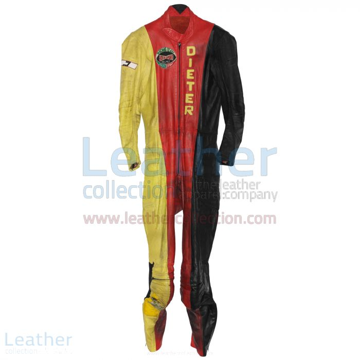 Grab Online Dieter Braun Yamaha GP 1974 Motorcycle Suit for ¥100,688.