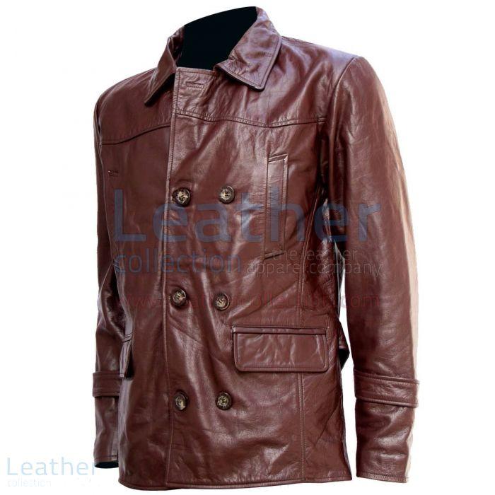 Pelle Marrone-Cappotto di pelle-LC