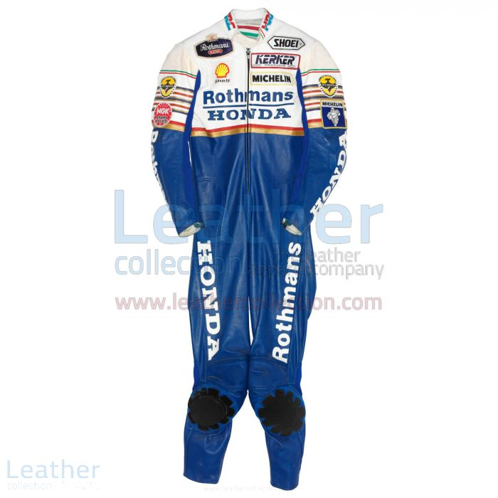 Offering Online Eddie Lawson Rothmans honda GP 1989 Leathers for ¥100