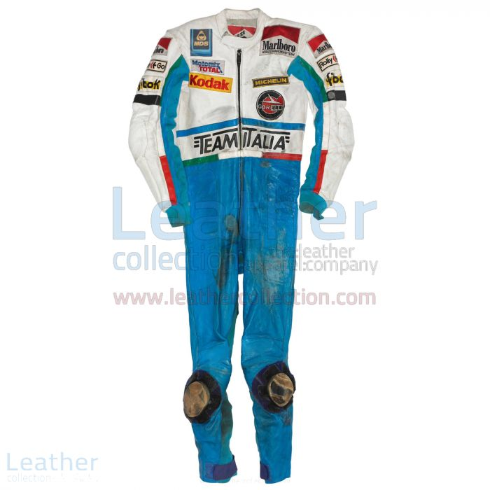 Buy Online Fausto Gresini Garelli GP 1985 Racing Suit for $899.00