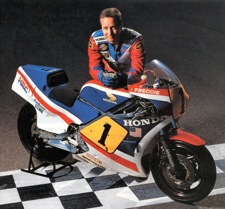 Freddie Spencer Riders – Fast Freddie, Former world champion motorcycle racer