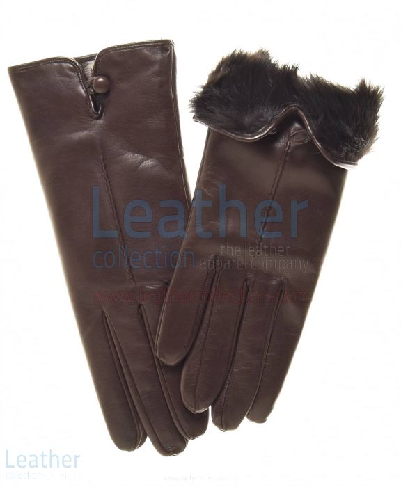 Fur Lined Leather Gloves | Buy Now | Leather Collection