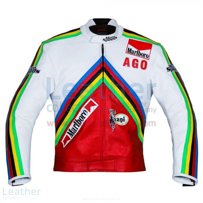 Buy Now Giacomo Agostini MV Agusta GP 1975 Leather Jacket for SEK3,960