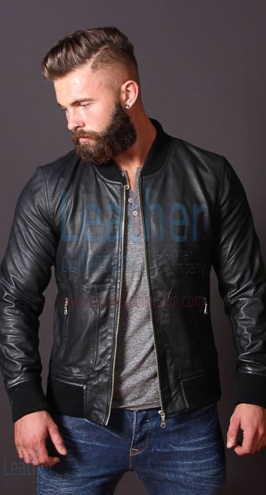 Offering Now Heritage Leather Jacket For Men for CA$733.60 in Canada