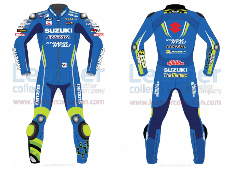 Andrea Iannone Suzuki MotoGP 2018 Leather Suit