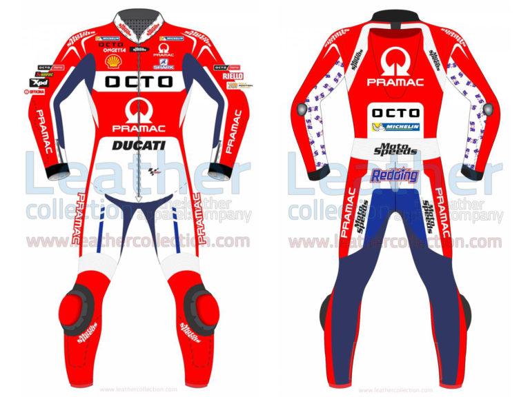 Scott Redding Ducati Pramac 2017 MotoGP Leather Suit