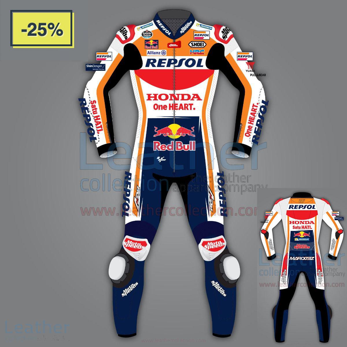 25% off on Alex Marquez Honda Repsol Race Leathers Motogp 2020