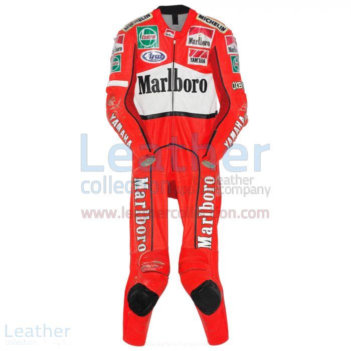 Erhalten Jean Michel Bayle Marlboro Yamaha GP 1996 Anzug