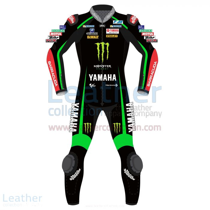 Get Now Johan Zarco Yamaha Monster Tech 3 2017 Leather Suit for $899.0