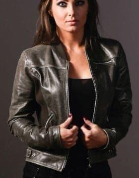 Vestes Femme – Veste Bomber Femme – l'obtenir maintenant | Leather Collection