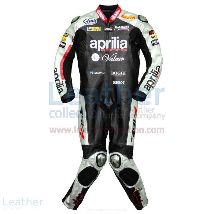 Shop Now Leon Haslam Aprilia 2015 WSBK Racing Leathers for A$1,213.65