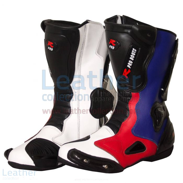 Pick Leon Haslam BMW Motorcycle Boots for A$337.50 in Australia