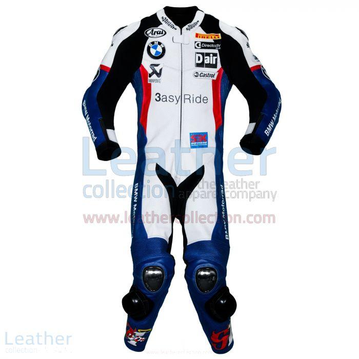 Customize Online Leon Haslam Aprilia 2015 WSBK Racing Leathers for CA$