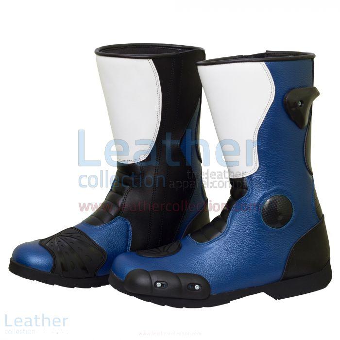 Pick up Online Leon Haslam Leather Biker Boots for SEK2,200.00 in Swed