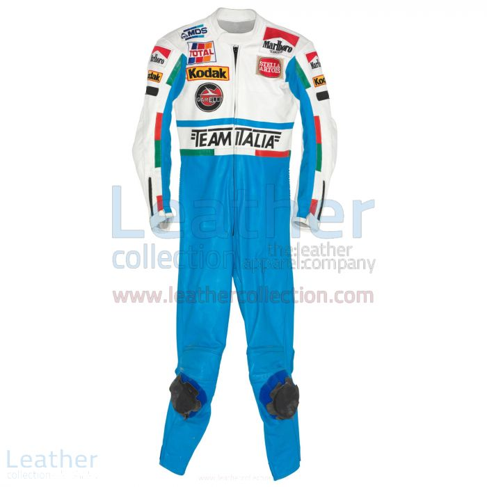 Order Online Luca Cadalora Garelli GP 1986 Motorcycle Suit for ¥100,6