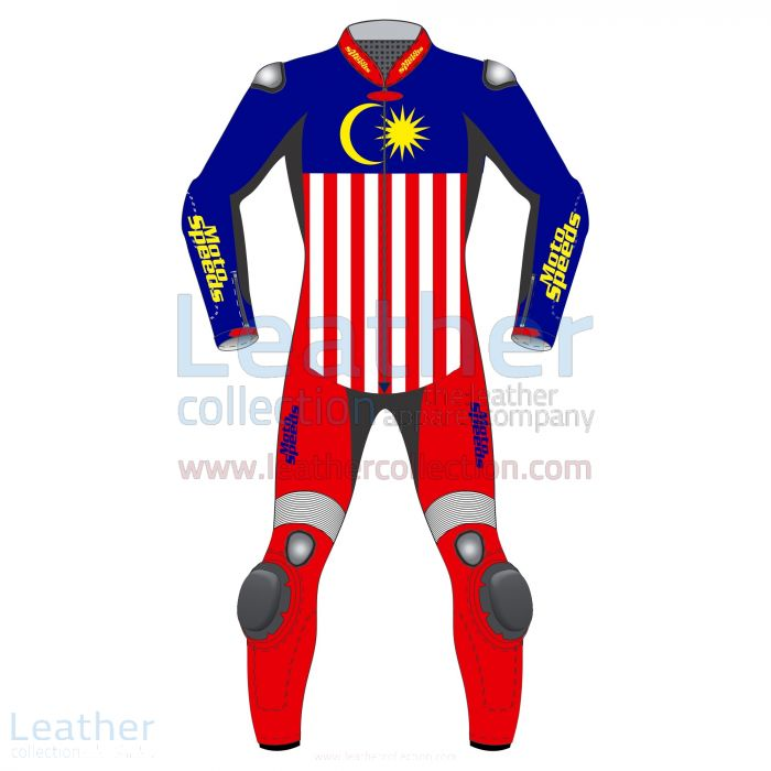 Pick it Online Malaysia Flag Leather Motorbike Suit for SEK7,040.00 in