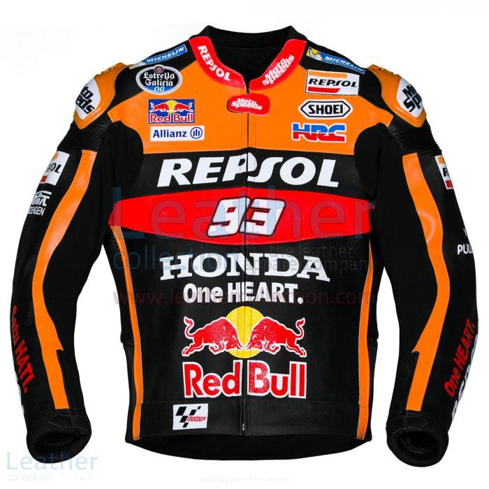 Wähle jetzt aus Marc Marquez 93 Honda Repsol Schwarze Jacke 2017 €3