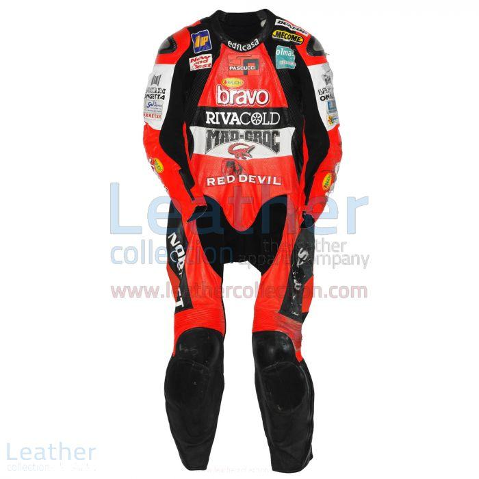 Pick Marco Simoncelli Aprilia GP 2004 Leathers for ¥100,688.00 in Jap