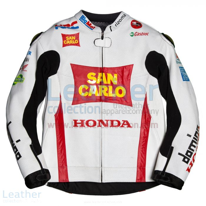Get Online Marco Simoncelli Honda 2011 MotoGP Jacket for CA$589.50 in
