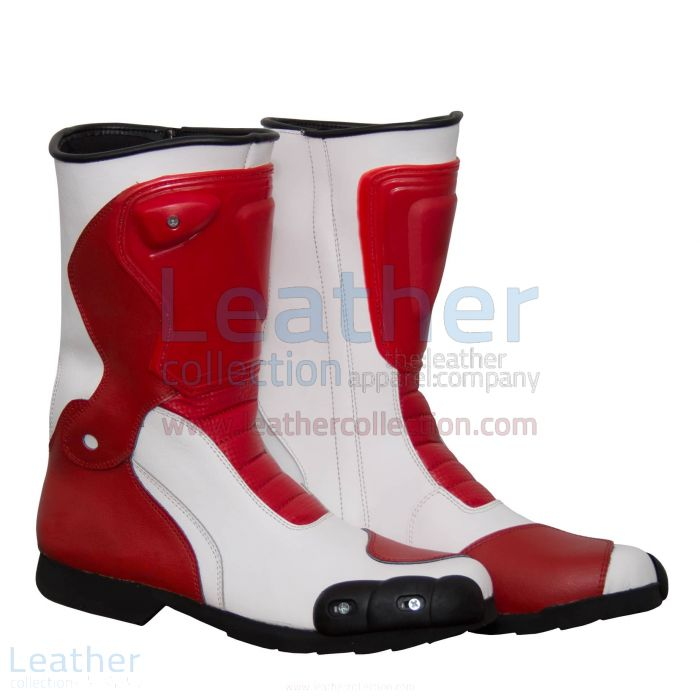 Pick it Online Marco Simoncelli Motorbike Riding Boots for A$337.50 in