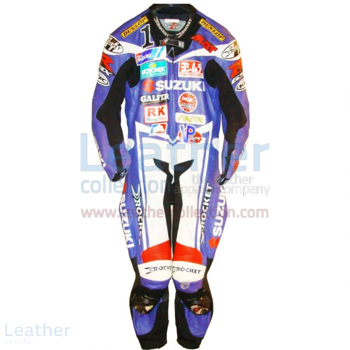Claim Now Mat Mladin Suzuki AMA 2005 Leather Suit for SEK7,911.20 in S