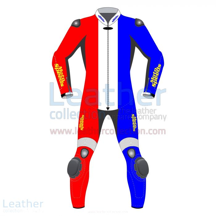 Offering Netherlands Flag Moto Leather Suit for ¥89,600.00 in Japan