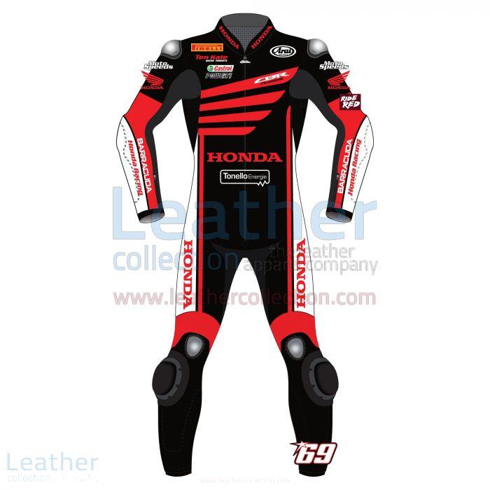 tienda Nicky Hayden WSBK Prueba de invierno Honda 2015 Traje de moto