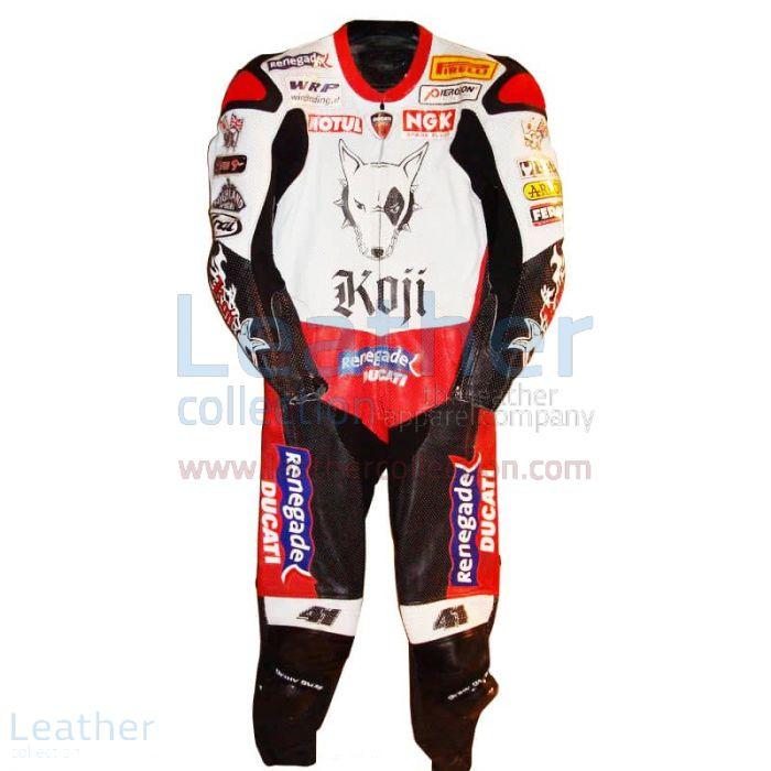 Buy Online Noriyuki Haga Ducati WSBK 2004 Racing Suit for $899.00