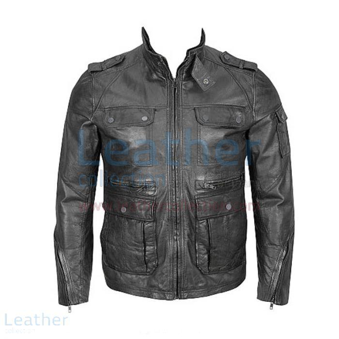 Comprar Chaqueta Hipster – 4-Bolsillo Chaqueta – Leather Collection