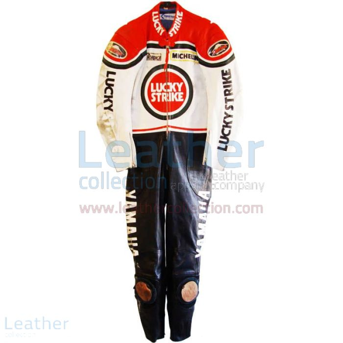 Offering Randy Mamola Lucky Strike Yamaha GP 1986 Leathers for ¥100,6