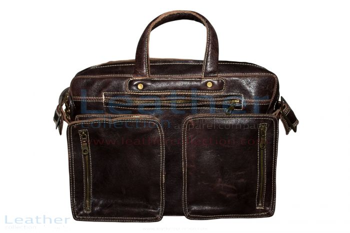 Shop Laptop Bag   Retro Leather Laptop Bag