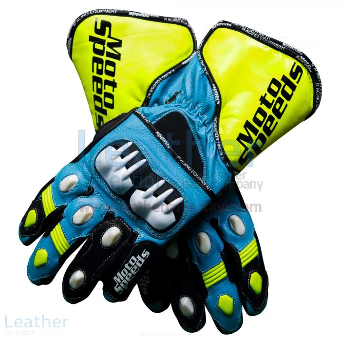 Buy Suzuki Gloves | Rizla Suzuki 2013 – Motorbike Leather Gloves