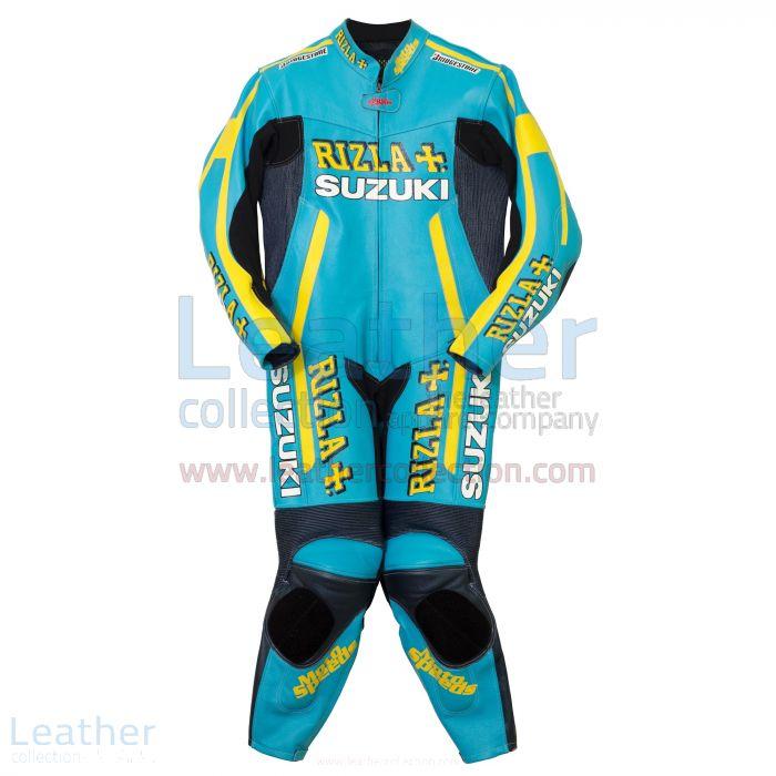 Rizla Suzuki Motorradrennen Lederanzug – Erhältlich in 1 Stück / 2 Stück