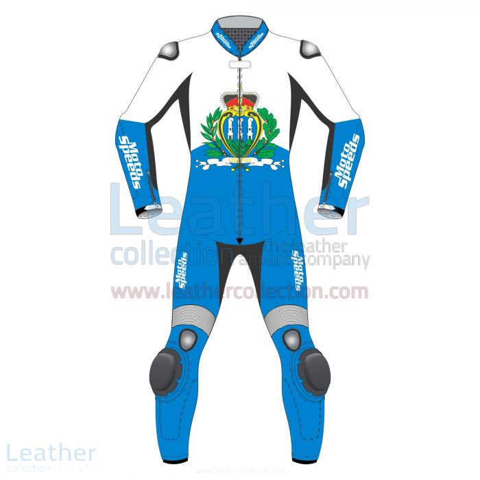 Get Now San Marino Flag Motorcycle Leathers for SEK7,040.00 in Sweden