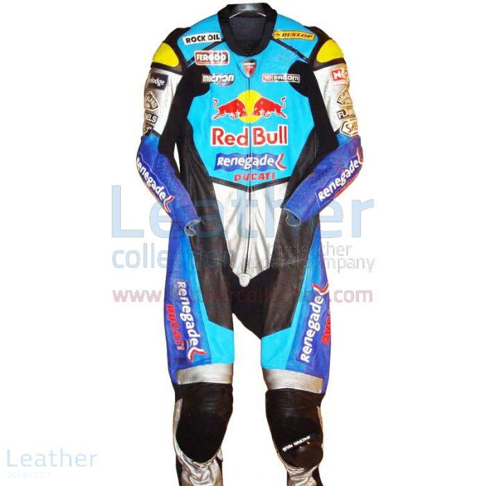 Passen Sie online an Sean Emmett Red Bull Ducati WSBK 2003 Rennanzug